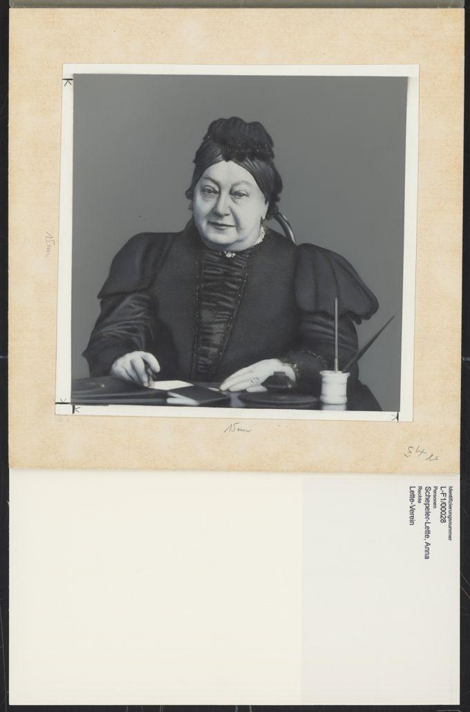 Anna Schepeler-Lette / Seite 1