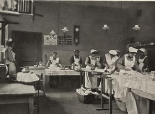 Lehrzimmer für Plätten