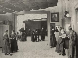 Die Ateliers der Photographischen Lehranstalt