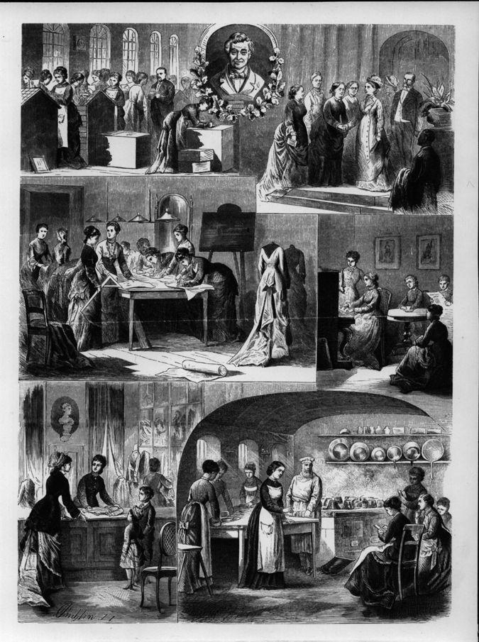 Lette-Haus 1877 : Zeichnung / Seite 1