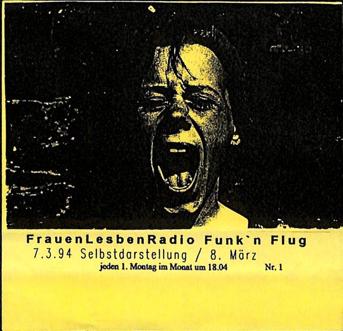 """""""Selbstdarstellung und Bericht zum 8. März """" Sendung vom 07.03.1994"""