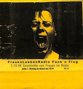 """""""Geschichte von Frauen im Radio"""" Sendung vom 03.10.1994"""