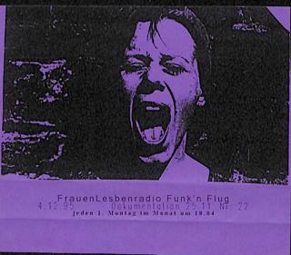 """""""Dokumentation 25.11."""" Sendung vom 04.12.1995"""