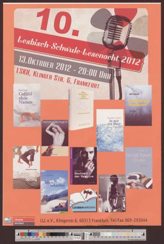 10. Lesbisch-Schwule-Lesenacht 2012