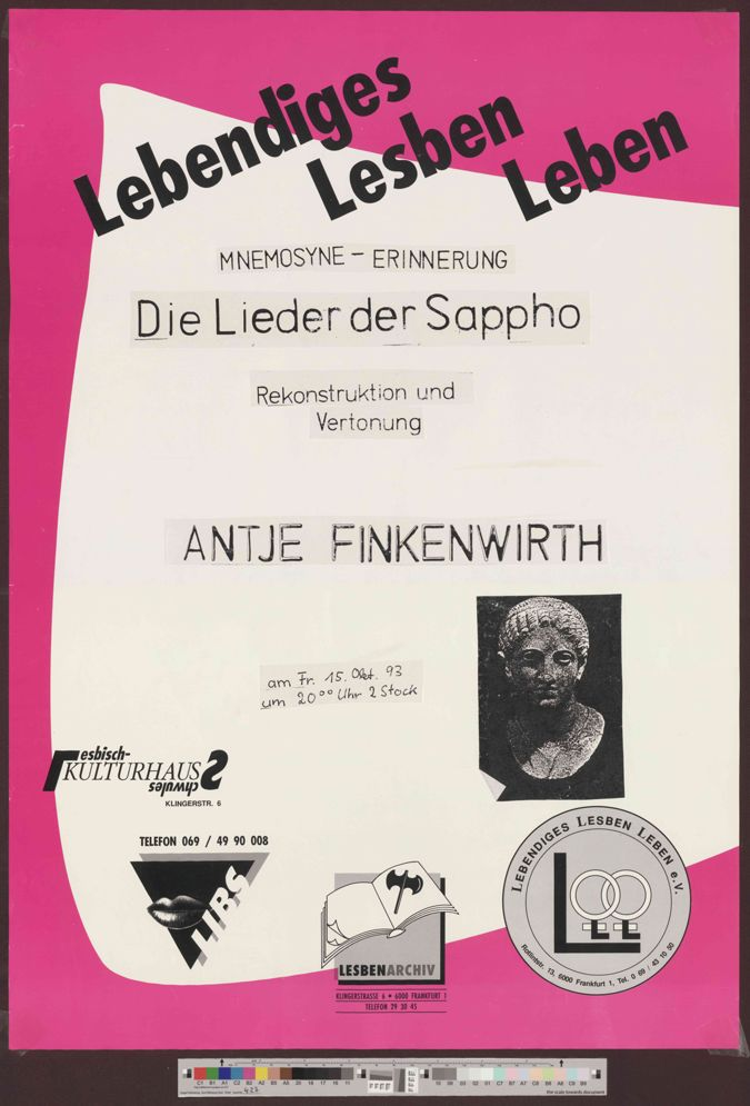 Mnemosyne - Erinnerung :  Die Lieder der Sappho: Rekonstruktion und Verortung, Antje Finkenwirth