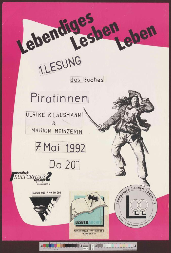 1. Lesung des Buches Piratinnen :  Ulrike Klausmann & Marion Meinzerin