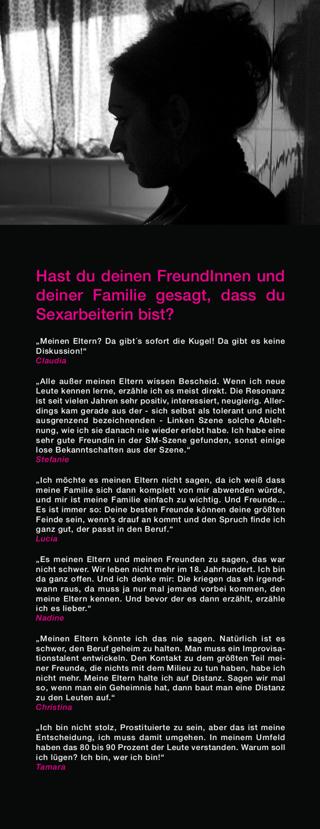 Einblicke ...in den Berufsalltag von Sexarbeiterinnen : Eine AUSTELLUNG von Mareen Heying & Monica Brauer