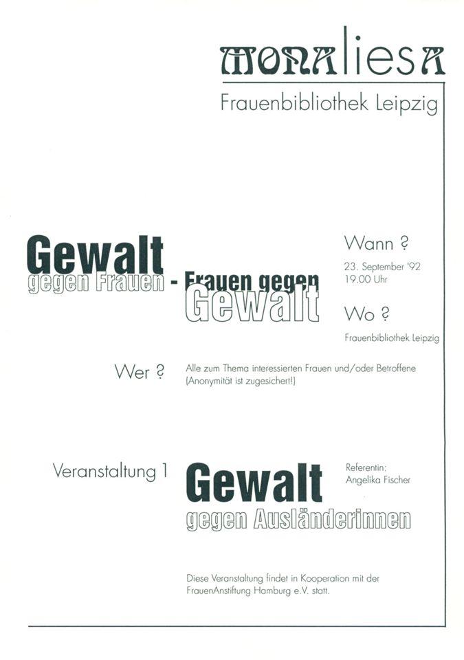 Angelika Fischer: Gewalt gegen Frauen - Frauen gegen Gewalt / Seite 1