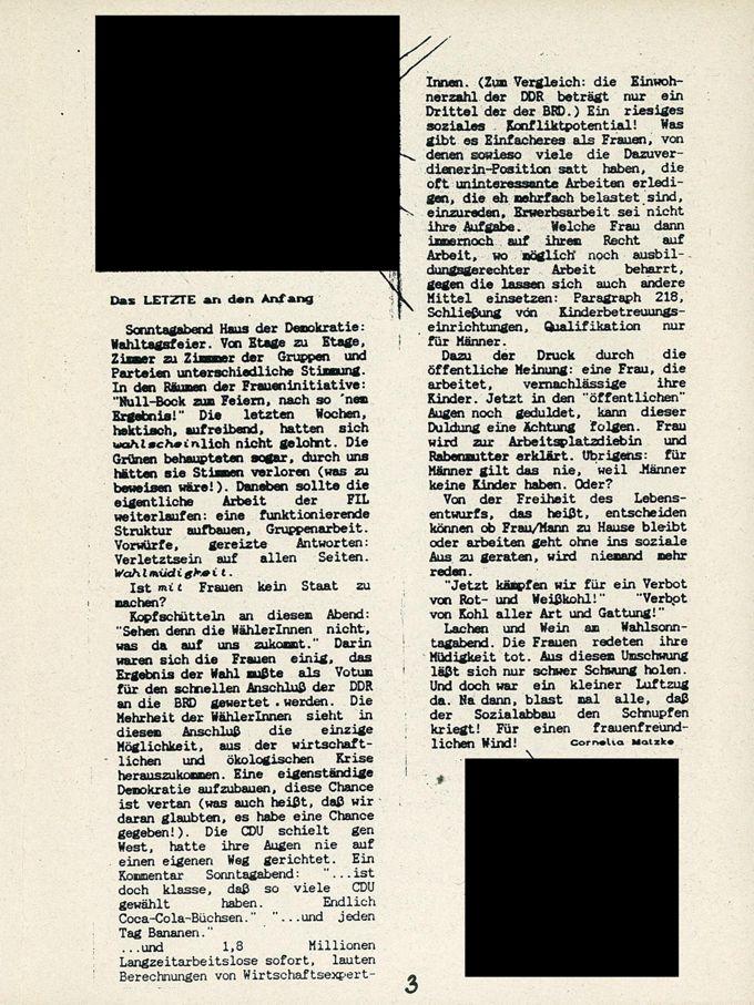 Das Letzte an den Anfang / Seite 1