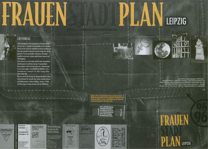 Frauenstadtplan Leipzig 1996 / Seite 1