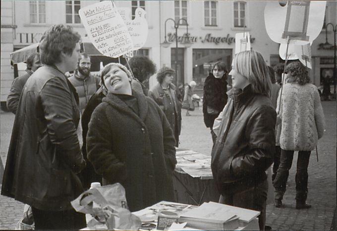 Informationsstand St. Johanner Markt
