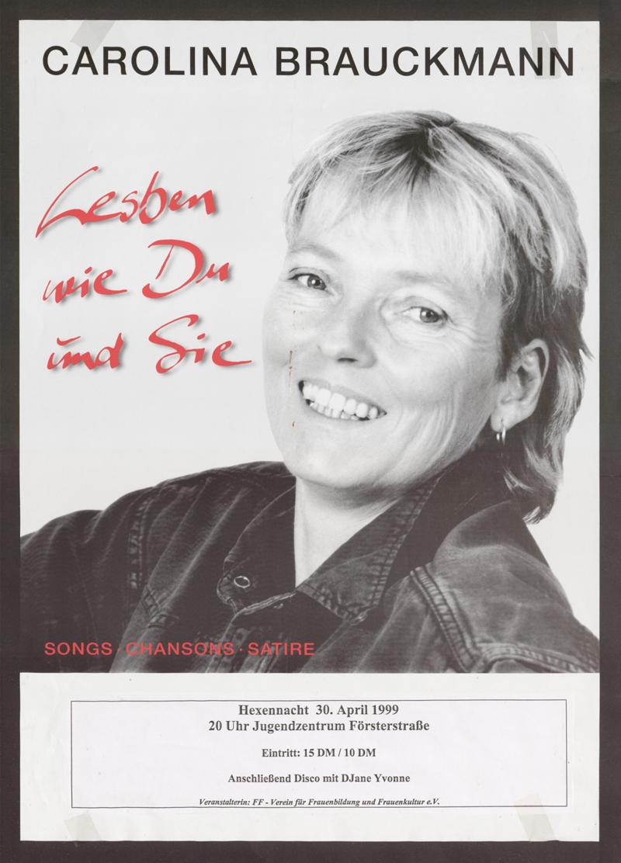 Carolina Brauckmann : Lesben wie Du und Sie