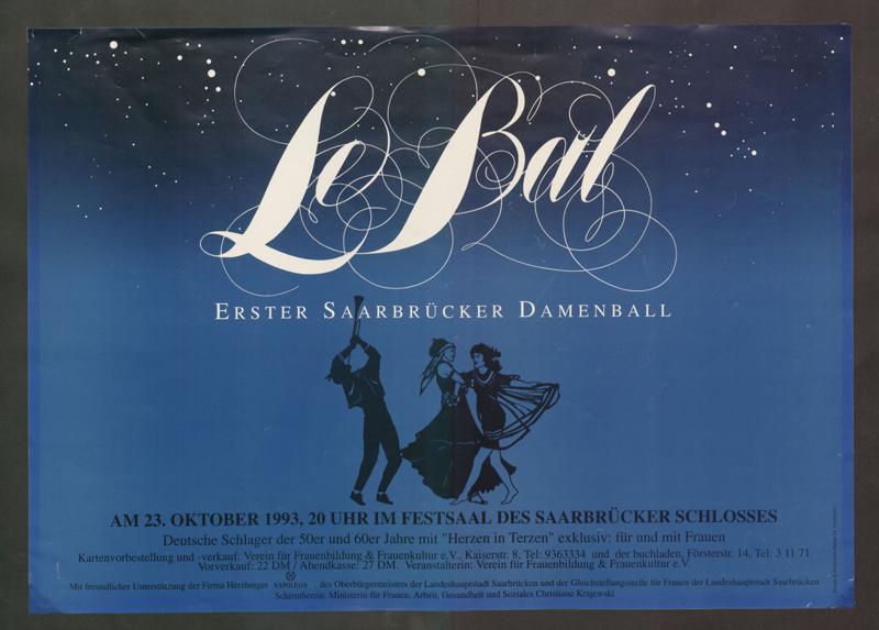 Le Bal : Erster Saarbrücker Damenball