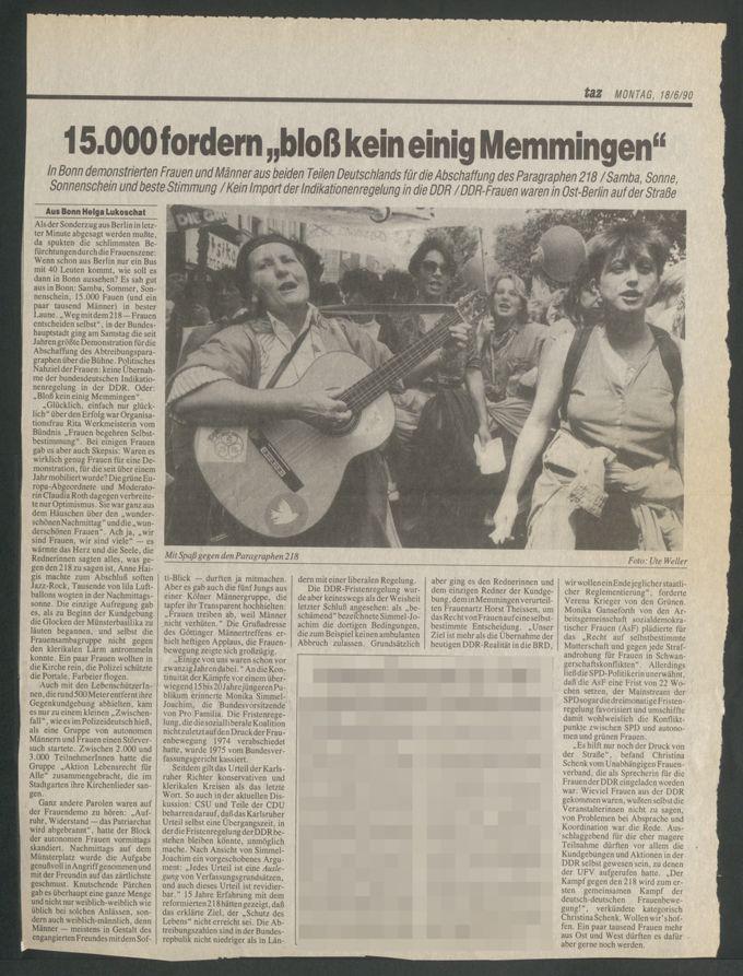 """15.000 fordern """"bloß kein einig Memmingen"""""""