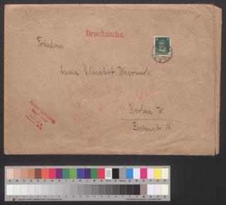 adressierter Briefumschlagadressierter Briefumschlag