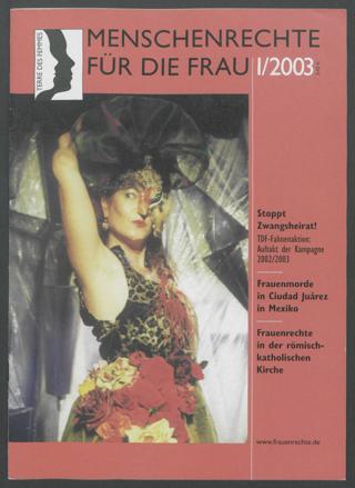 Menschenrechte für die Frau : Die Zeitschrift von TERRE DES FEMMES