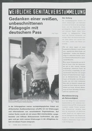 Gedanken einer weißen, unbeschnittenen Pädagogin mit deutschem Pass