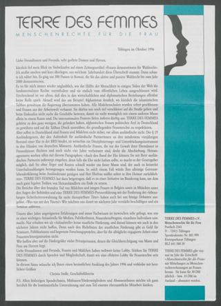 ( Jahresmitteilung 1996 )