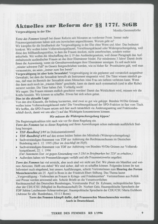 Aktuelles zur Reform der §§ 177-179 StGB : Vergewaltigung in der Ehe