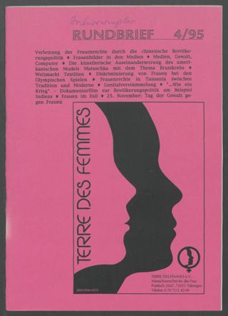 Terre des Femmes-Rundbrief