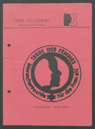 TERRE DES FEMMES - Menschenrechte für die Frau e. V. : Städtegruppe Heidelberg